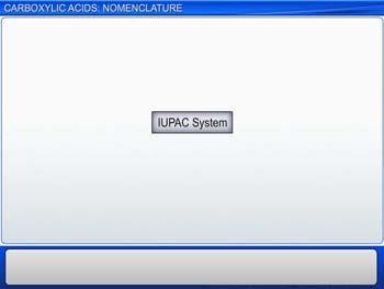 Animated video Lecture for Carboxylic Acids: Nomenclature