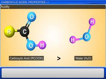 Animated video Lecture for Carboxylic Acids: Properties - I