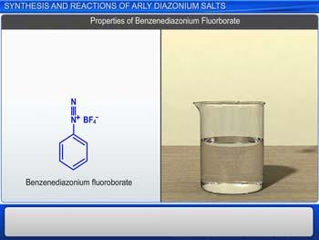 Animated video Lecture for Diazonium Salts