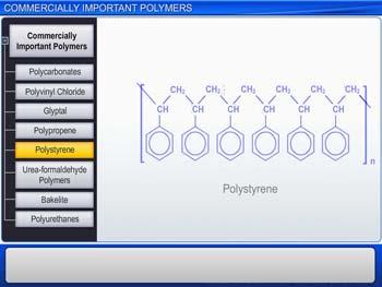 Animated video Lecture for Commercially Important Polymers