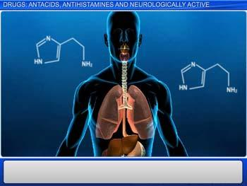 Animated video Lecture for Drugs: Antacids, Antihistamines And Neurologically Active