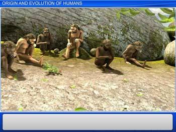 Animated video Lecture for Origin and Evolution of Humans
