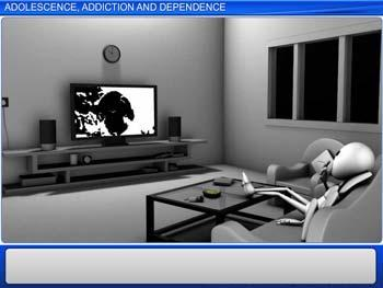 Animated video Lecture for Adolescence, Addiction and Dependence
