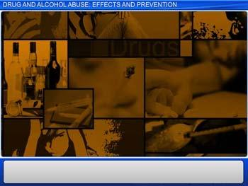 Animated video Lecture for Drug and Alcohol Abuse - Effects and Prevention