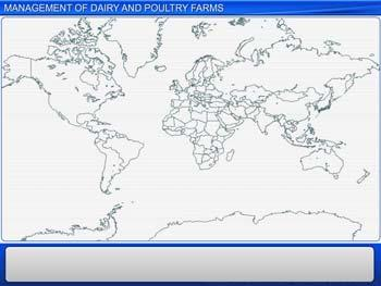 Animated video Lecture for Management of Dairy and Poultry Farms