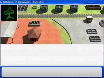 Animated video Lecture for Microbes In Sewage Treatment