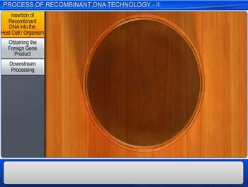 Animated video Lecture for Process of Recombinant DNA Technology - II