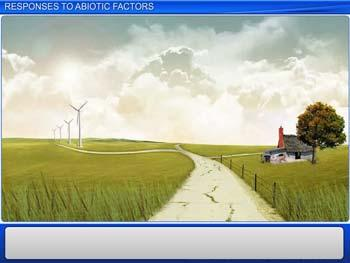 Animated video Lecture for Responses to Abiotic Factors