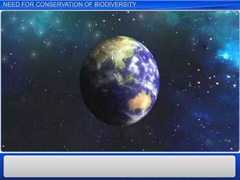Animated video Lecture for Need for Conservation of Biodiversity