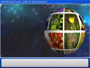 Animated video Lecture for Importance and Loss of Biodiversity
