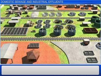 Animated video Lecture for Domestic Sewage And Industrial Effluents