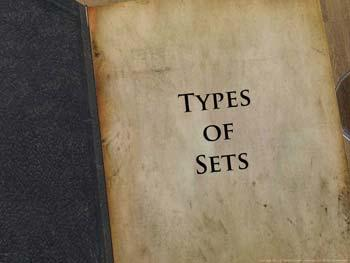 Animated video Lecture for Types of Sets
