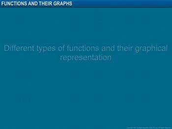 Animated video Lecture for Functions and their Graphs