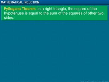 Animated video Lecture for Mathematical Induction