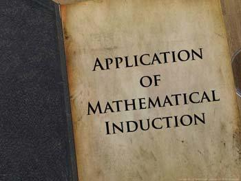 Animated video Lecture for Application of Mathematical Induction