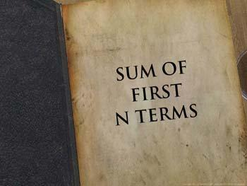 Animated video Lecture for Sum of first n terms of an AP