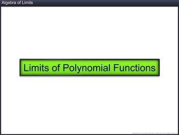 Animated video Lecture for Algebra of Limits