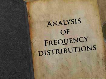 Animated video Lecture for Analysis of Frequency Distributions