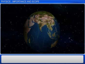 Animated video Lecture for Physics Importance and Scope