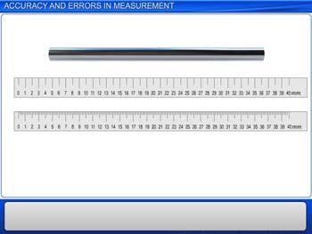 Animated video Lecture for Accuracy and Errors in Measurement