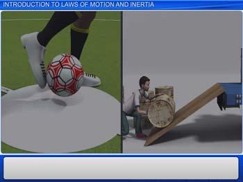 Animated video Lecture for Introduction to Laws of Motion and Inertia