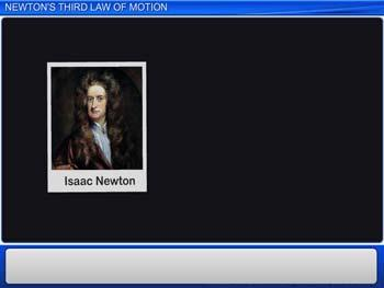 Animated video Lecture for Newton's Third Law of Motion