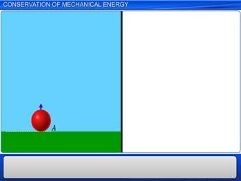 Animated video Lecture for Conservation of Mechanical Energy