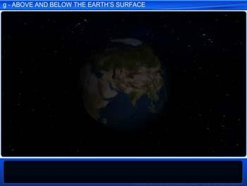 Animated video Lecture for g Above and Below the Earth's Surface