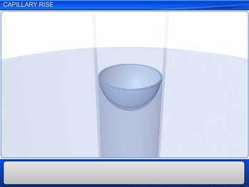 Animated video Lecture for Capillary Rise