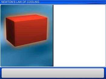 Animated video Lecture for Newton's Law of Cooling