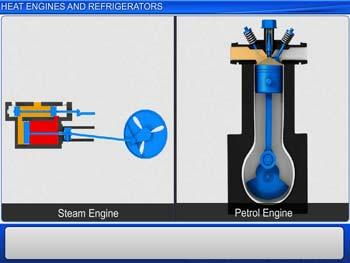 Animated video Lecture for Heat Engines and Refrigerators