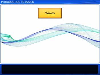 Animated video Lecture for Introduction to Waves