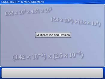 Animated video Lecture for Uncertainty In Measurement