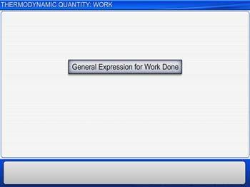 Animated video Lecture for Thermodynamic Quantity: Work