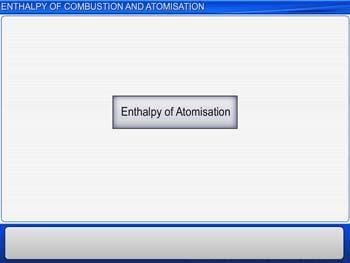 Animated video Lecture for Enthalpy Of Combustion And Atomisation