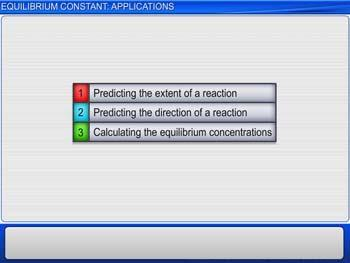 Animated video Lecture for Equilibrium Constant: Applications