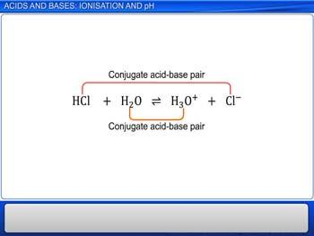 Animated video Lecture for Acids And Bases: Ionisation And pH