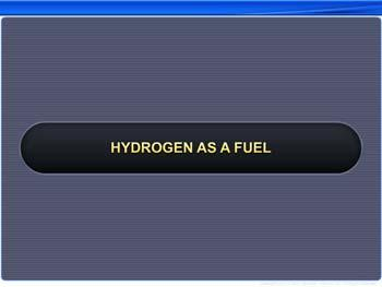 Animated video Lecture for Hydrogen As A Fuel
