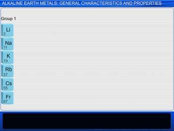 Animated video Lecture for Alkaline Earth Metals: General Characteristics And Properties