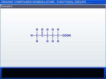 Animated video Lecture for Organic Compounds: Nomenclature-Functional Groups