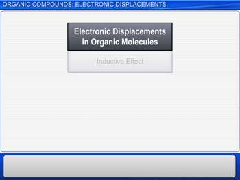 Animated video Lecture for Organic Compounds: Electronic Displacements