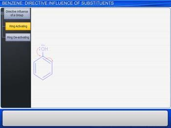 Animated video Lecture for Benzene: Directive Influence Of Substituents