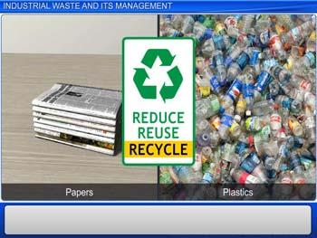 Animated video Lecture for Industrial Waste and its Management
