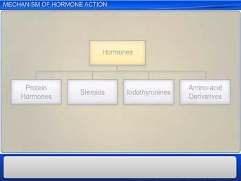 Animated video Lecture for Mechanism of Hormone Action