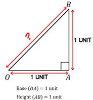Pythagoras theorem, hypotenuse, right angles triangle, square of hypotenuse, sum of squares of two sides