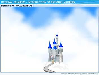 Animated video Lecture for Introduction to Rational Numbers